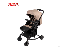 300d Linen Fabric Pram 2 In 1 Baby Stroller With Rock System