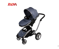Multifunction Pushchair High Landscape Foldable Baby Stroller 3 In 1