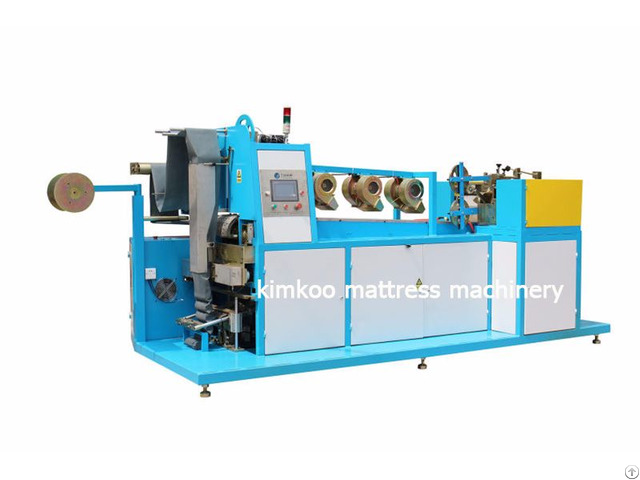 Double Head Pocket Spring Machine Without Air Cylinder
