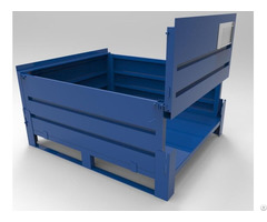 Assembly Storage Metal Container