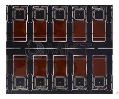 Black Printed Circuit Board With Ic