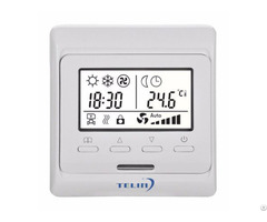 E51 Electronic Underfloor Heating Weekly Programmable Room Thermostats With Lcd Screen
