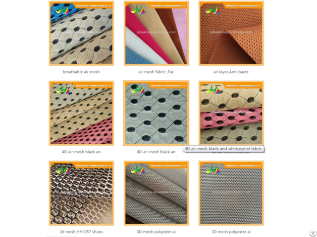 Air Mesh Fabric For Home Textile