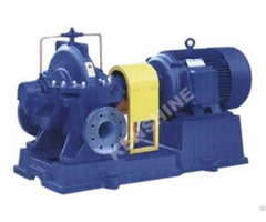 S Sh Single Stage Split Case Double Suction Centrifugal Pump