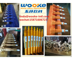 Medium High Air Pressure Drilling Mining Rock Dth Hammers