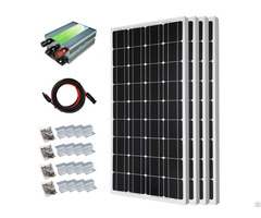 400w Off Grid Monocrystalline Solar Panel Starter Kit
