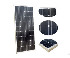 100w 12v Monocrystalline Solar Panel For Pv Power Systems