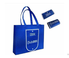 Promotional Use Shopping Bag Totes Non Woven Custom Printed