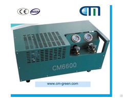 Portable Residential A C Oil Less Refrigerant Recovery Machine Cm6600
