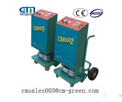 Cm0501trolley Portable Type Refrigerant Recovery Machine