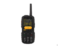 Odm Of Satellite Intercom Mobile Phone With Analog Walkie Talkie