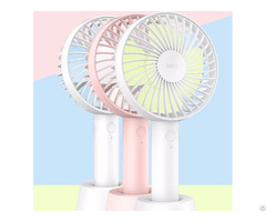 Odm Of Mini Hand Held Fan With 2000 Mah Battery You Can Charge In Ordinary Phone