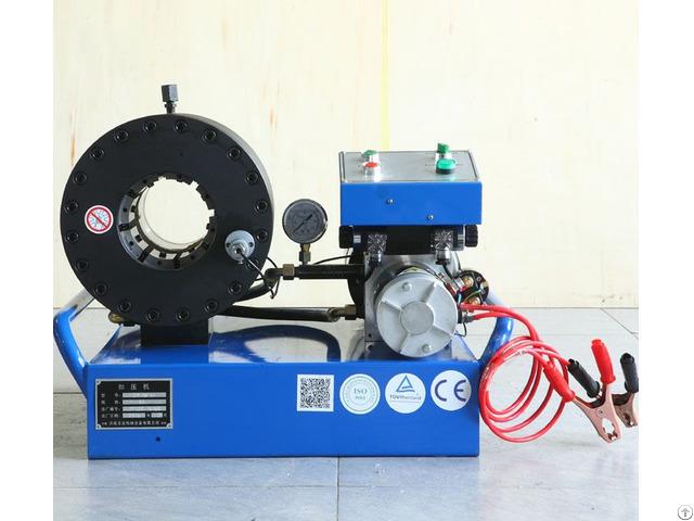Hose Crimping Machine For Mobile Service Yjk Dc38