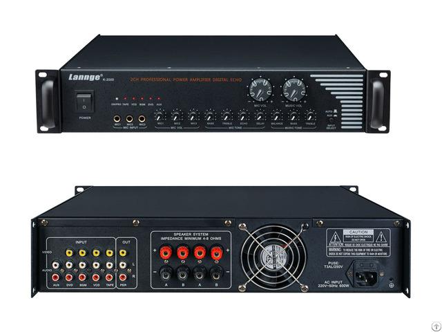 K 2000 2u Class Td Combined Power Amplifier 4 200w