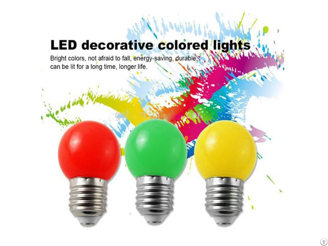 Ce Rohs Certificate 2years Warranty Ip65 Led Color Bulb E27
