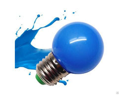 Red Green Yellow Blue White G45 Led Bulb 0 5w 1w With 2 Years Warranty