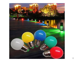 Decorative Colorful Small Bulbs Plastic G45 Led Lighting