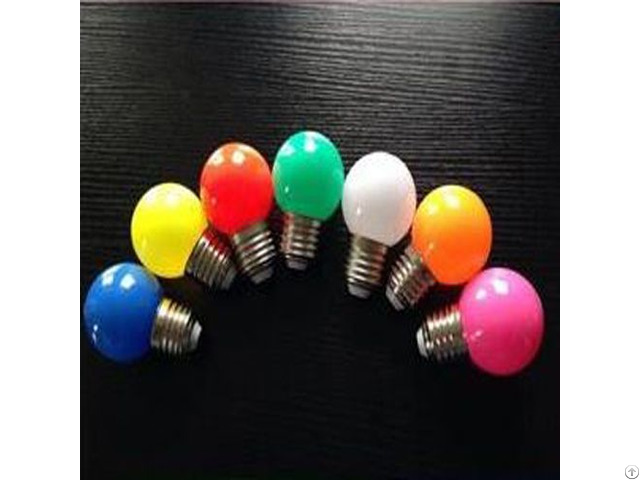 Trade Assurance 2016 New Design 0 5w Colorful Decorative G45 Bulb