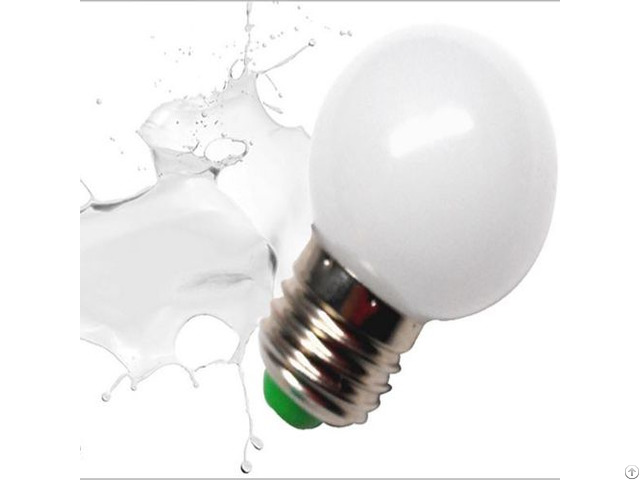 Pc Cover Red Yellow Green Blue White G45 Led Color Bulb