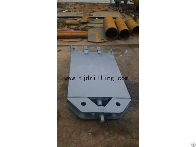 Pile Rectangular Chisel 600mm 3000mm For Piling Foundation Work