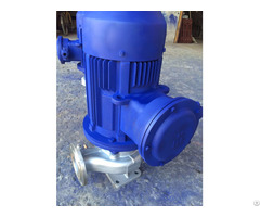 Ihg Vertical Stainless Steel Centrifugal Pump
