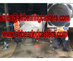 Air Bearings For Transporting Heavy Cargo Picture