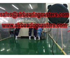 Air Caster Systems Operating Attentions