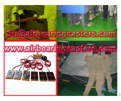 Air Casters Lifting Tool With Technology