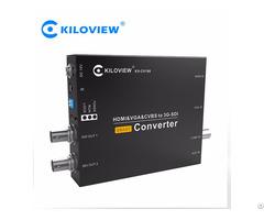 Cv180 Sdi To Hdmi Vga Av Multifunction Converter