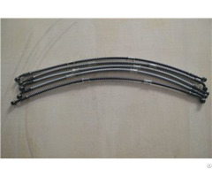 "Product 1 8"" Stainless Steel Wire Braided Reinforced Brake Hose"