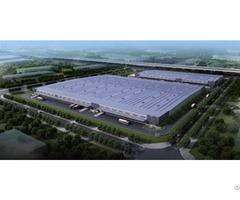 Single Storey Large Span Light Steel Structure Logistics Warehouse
