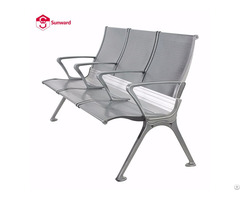 Airport Benches Waiting Room Chairs Aluminum 3 Seater Bench