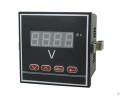 1p V Digital Single Phase Voltage Meter