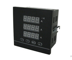 3p A Digital Three Phase Current Meter