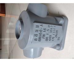 Aluminum Alloy Alsi10mg T6 Heat Treatment Gravity Casting Components Pump Body Oem Manufacturer