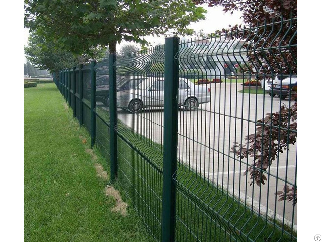 Decorative Vinyl Coated Welded Wire Fence Hengshui - ECeurope Market