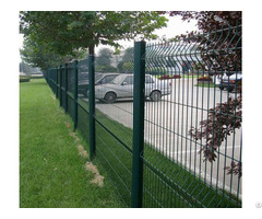 Decorative Vinyl Coated Welded Wire Fence