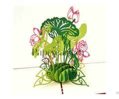 Lotus Small 3d Card
