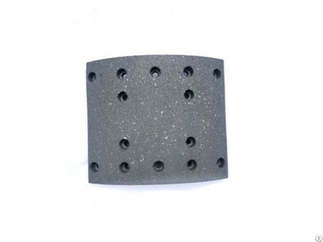 Asbestos Free Carbon Fibre Truck Parts Disc Pads Brake Lining