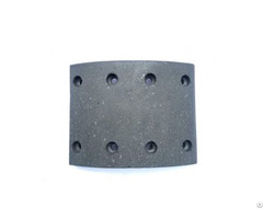 Heavy Truck Brake Shoe Lining Daf Spare Parts