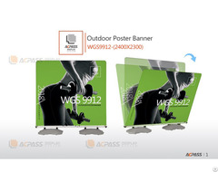 Outdoor Poster Banner Wgs9912 2400x2300mm