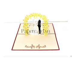 Love Wedding Popup Card