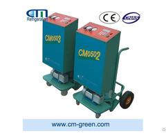 Auto Refrigerant Recovery Recycling Machine For Car Repair And Maintenance Shop