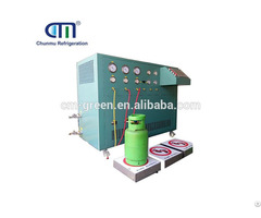 Multiple Stage Recovery Machine For Refrigerant Iso Tank Accuracy Up To 0 5 %