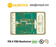 High Frequency Board Morepcb Rogers Taconic Aron Ptfe F4b Rf Pcb Microwave Circuit Manufacturer