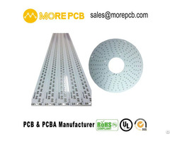 Led Pcb Round Aluminum Circuit Board For Ledlight Strip Morepcb Manufacturer