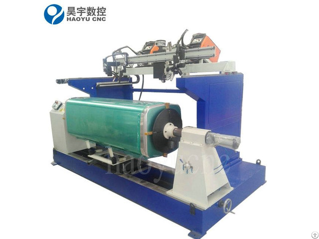 Aluminum Fuel Tank Mig Automatic Welding Machine