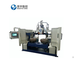 Track Idler Double Stations Circular Seam Welding Machine