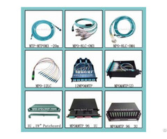 Mtp Mpo 24 48 72 96 Fiber Optic Patch Panels Om3 0m4 Sm