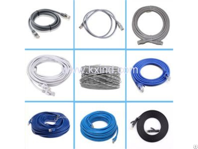 Cat 6 And Amp5e Ethernet Network Cable Rj45 Patch Cord